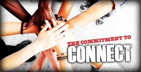 HANDS IN; THE COMMITMENT TO CONNECT